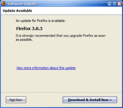 Firefox 3.03
