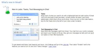 Text Messaging in Chat