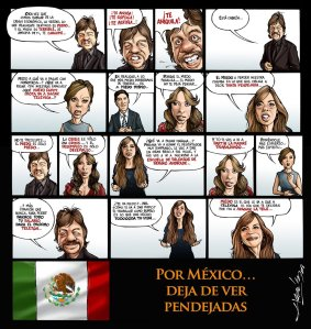 Por México, deja de ver pendejadas