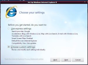 IE8 RC1