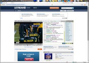 nfl at ustream