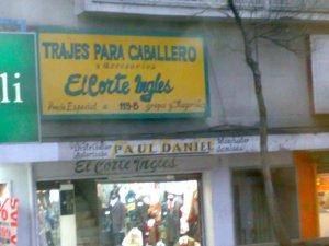 El Corte Inglés en mexico