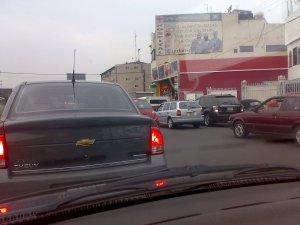tráfico tránsito de mierda en el estado de México