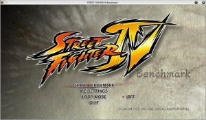 Benchmark for Street Fighter IV PC version