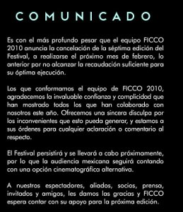 ficco is gone