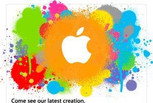 tablet invitación apple