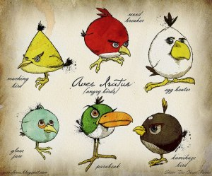angry birds by darwin