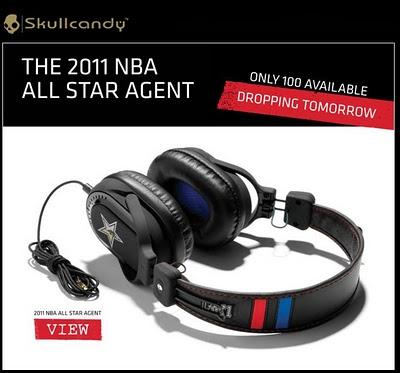 NBA ALL STAR Agent  SkullCandy