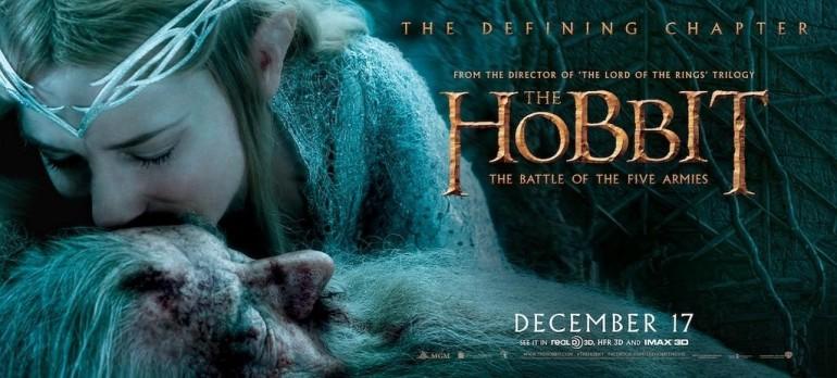 La tercera cinta de el hobbit estrena en México en diciembre 11